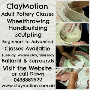 Adults Pottery Classes Ballarat
