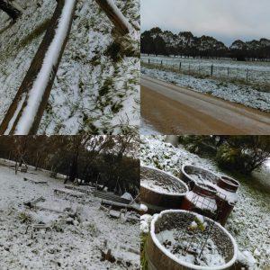 ClayMotion Snow July 2016 Ballarat