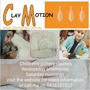 ClayMotion childrens classes Ballarat