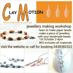Jewellery making workshop Ballarat
