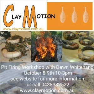Claymotion Ballarat Pit Firing Workshop