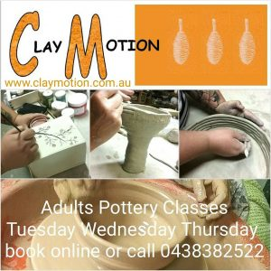 ClayMotion Pottery in Ballarat