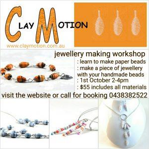 Jewellery making workshop Ballarat