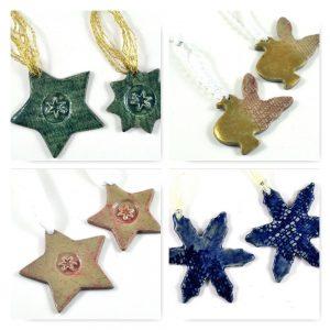 School Holidays Workshop Christmas Decorations at ClayMotion Ballarat Victoria