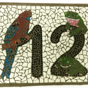 House Number Mosaic Workshop @ ClayMotion