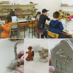 Childrens class at ClayMotion Ballarat