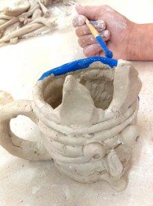 monster mugs Childrens pottery classes ClayMotion Ballarat Victoria