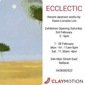 Exhibition at ClayMotion Gallery Ballarat Victoria
