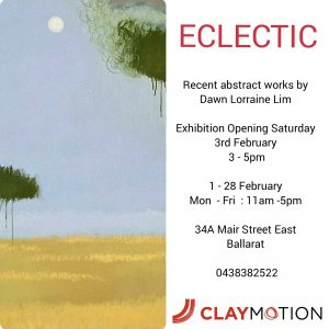 Art Exhibition ClayMotion, Ballarat Victoria Australia