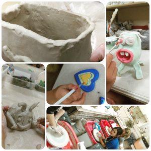childrens pottery classes ClayMotion Ballarat Victoria