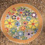 Garden Paver mosaic workshop ClayMotion Ballarat