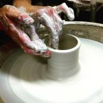 Pottery Wheel Throwing Workshop at ClayMotion Ballarat Victoria