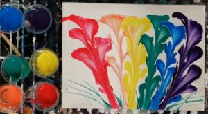 Acrylic Pouring for Tweens and Teens