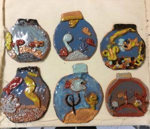 Children's School Holiday Pottery Workshop at ClayMotion Ballarat Victoria