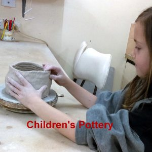 childrens pottery classes ClayMotion Ballarat Victoria