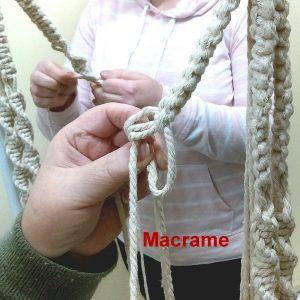 Learn macrame at ClayMotion Ballarat Victoria
