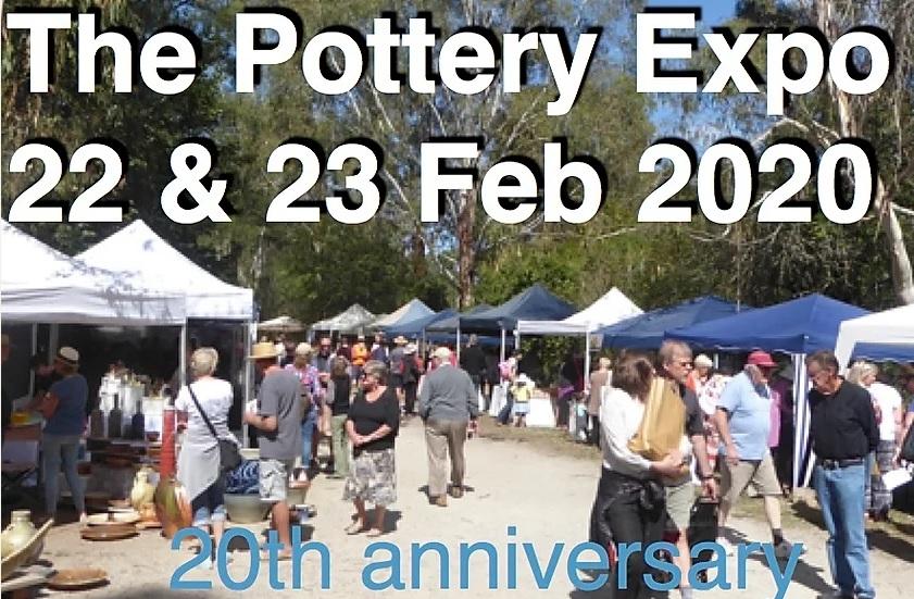 pottery bus tour to the Warrandyte Pottery Expo.
