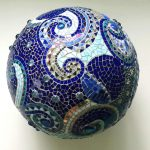 Online Mosaic Workshop - Hanging Sphere at ClayMotion Ballarat Victoria