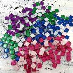 Glitter Mosaic Tiles at ClayMotion Ballarat Victoria